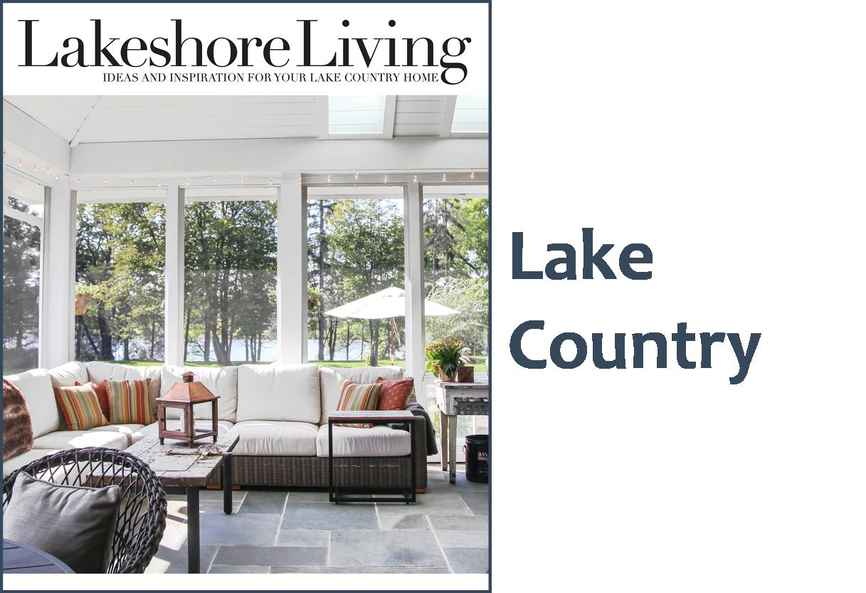 home lakeshore living magazinelakeshore living